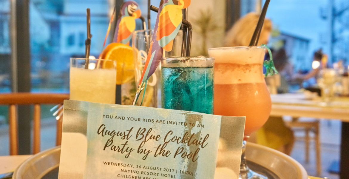 August Blue Cocktail Party